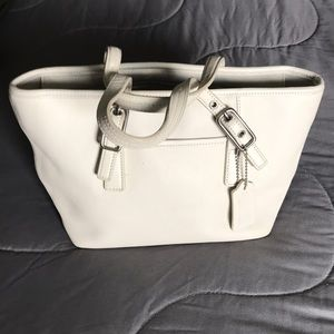 Off white Coach handbag